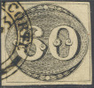 # Brazil    2, Used, VF+  (br001-4, 16-BGE - Used Stamps