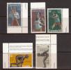 Canada 1976 Olympics, Mint No Hinge, Sc# 656-657, 664-666 - 1952-.... Reinado De Elizabeth II