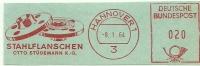 Germany Nice Cut Meter STAHLFLANSCHEN Otto Studemann, Hannover 8-1-1964 - Fysica