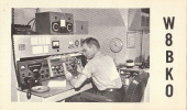 Carte Materiel Radio Amateur Colombus Ohio Usa - QSL-Karten