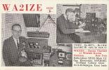Carte Materiel Radio Amateur  USA - QSL-Karten