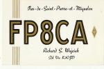 Carte Radio Amateur Saint Pierre Et Miquelon - QSL-Karten