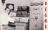 Carte Matériel Radio Amateur Alberta Edmonton USA - QSL-Karten