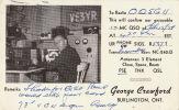 Carte Matériel Radio Amateur Burlington Ontario Canada - QSL-Karten