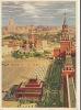 Carte Radio Amateur URSS Place Rouge Moscou - QSL-Karten