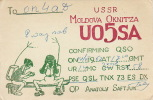 Carte Radio Amateur URSS Oknitza Moldova - QSL-Karten