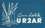 Carte Radio Amateur URSS Tallinn - QSL-Karten