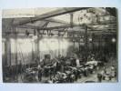 Cpa, Très Belle Vue Animée, Atelier De Mécanique, E. Hennau, Constructeur Mécanicien 8, Boulevard Ménilmontant, Paris - District 20