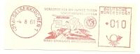 Germany Nice Cut Meter Stadt-Sparkasse Gelsenkirchen 4-8-1961 - Vakantie & Toerisme