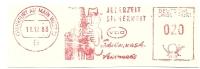 Germany Nice Cut Meter Jederzeit Sicherheit VDO Scheibenwash Automatic, Frankfurt 11-12-1963 - Scheikunde