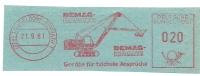 Germany Nice Cut Meter DEMAG Bagger, DEMAG Krane Digging, Dusseldorf 21-9-1961 - Transportmiddelen
