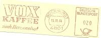 Germany Nice Cut Meter VOX Kaffee Nach Herzenlust, Bockhorst 13-11-1964 - Dranken