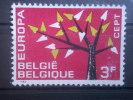 BELGIUM, 1962, Used 3f, Europa  Scott 582 - Belgium
