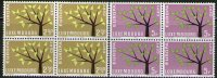 Luxembourg 1962 Europa CEPT, Block Of 4, MNH (**) - Luxembourg