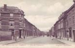 MONCEAU SUR SAMBRE = Rue Du Commerce - Carte Animée  (1908) - Belgique