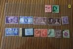 Timbres : Vrac:  14 Old  Stamps : Grande-Bretagne- Royaume-Uni Great Brittain England : En Oblitérés Cote Non Calculée - Lots & Kiloware (mixtures) - Max. 999 Stamps