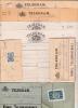 SUEDE - 1889/1915 - LOT INTERESSANT DE 8 TELEGRAMMES