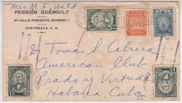 GUATEMALA - 1947 - ENVELOPPE Pour HABANA (CUBA) - Guatemala