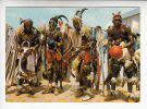 AFRIQUE (AFRICA) - BENIN (ex DAHOMEY AOF) Danses Lamba -CPSM-CPM Peu Fréquente - Benin