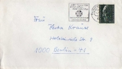 Carta , Frankfurt 1976 Diana, Dardos, Cover - Otros