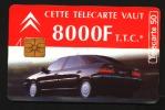 Télécarte 50u Utilisée Luxe  Citroën Xantia  F1537B    Du 12 / 1994 - France