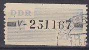 DDR ZKD Streifen B26 V 75,- Gestempelt Bitterfeld - [6] Democratic Republic