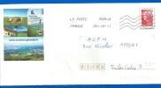 Prêt à Poster Local Marianne De Beaujard (3182) Porte Sud De Genève - Postal Stamped Stationery