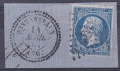 N 14A  20C BLEU  - TB - 1853-1860 Napoleon III