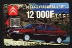 Télécarte 50u Utilisée Luxe  Citroën 12000F  F634    Du 03 / 1996 - France