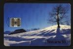 Télécarte 50u Utilisée Luxe   Hiver   F524A    Du 11 / 1994 - France