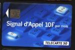 Télécarte 50u Utilisée Luxe  Signal D'appel 4    F421   Du 08 / 1993 - France