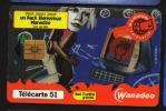 Télécarte 50u Utilisée Luxe  Milliardieme Wanadoo    F1017A   Du 11 / 1999 - France