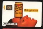 Télécarte 50u Utilisée Luxe  Schweppes Réfrigirateur     F287   Du 08 / 1992 - France