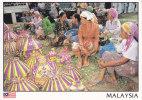 Postcard Malaysia Traditional Market Sabah - Märkte