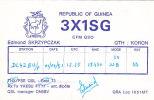 QSL-CARDS  - 102708 Guinea - Koron - Radio Amateur