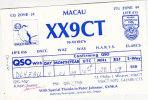 QSL-CARDS  - 102723 Macau - Radio Amateur