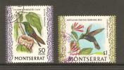 Montserrat 1970 Bird Definitives - 50c & $1 Values VFU - Montserrat