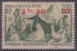 £9 - MAURITANIE - N° 133 - OBLITERE