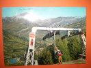 Bardonecchia(piemonte)seggiovia Pian Del Sole Viaggiata Leggera Piega Ad Angolo - Italia