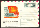 """USSR-1977, Mint Cover With Original Stamp, The Soviet Station """"North Pole"""" - D318. - Polar Philately"""