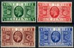 Grande Bretagne (1935) N 201 à204 * (charniere) - 1902-1951 (Könige)