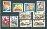 Swaziland:   385/ 388 + 393/ 394 + 452/ 455 ** - Swaziland (1968-...)