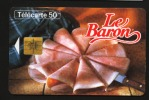 Télécarte 50u Utilisée Luxe  Le Baron Jambon     F640   Du 04 / 1996 - France