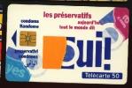 Télécarte 50u Utilisée Luxe     Préservatifs: Oui !     F385   Du 07 / 1993 - France