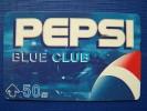 Thailand Pepsi Phone Card Blue Club 50 Baht - Thailand