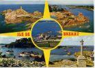 ILE De BREHAT--1976--Ses Sites, Vues Diverses (phare,port,calvaire ,vue Aérienne ) ,cpm N° 2900 éd Jack - Ile De Bréhat