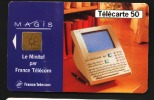 Télécarte 50u Utilisée Luxe     MAGIS Blanc     F568   Du 07/ 1995 - France