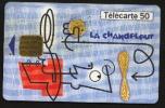 Télécarte 50u Utilisée Luxe     La Chandeleur       F1037   Du 01/ 2000 - France