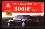 Télécarte 50u Utilisée Luxe     Citroën Xantia      F537B   Du 12/ 1994 - France