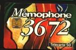 Télécarte 50u Utilisée Luxe    36.72 Memophone Duo      F427   Du 09/ 1993 - France